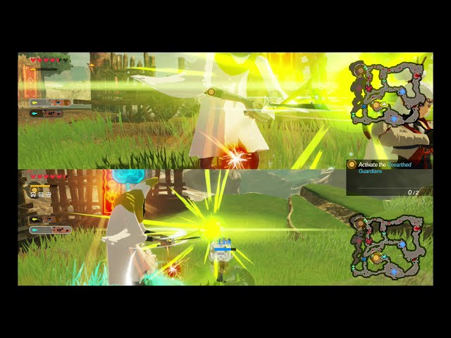 Checking Out The Multiplayer In The Hyrule Warriors Age Of Calamity Demo Youtube