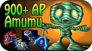 900+ AP AMUMU - Jungle Full Gameplay [Ger]