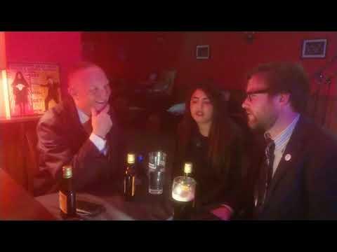 Interview with The Reverend Beat Man & Sister Nicole Izobel Garcia