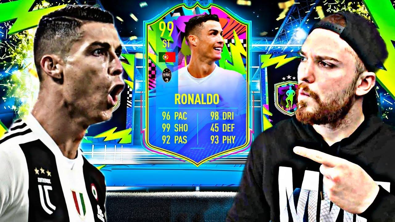 الدوووووووون كريستيانوووو 99 😱😍🔥 !! FIFA 21