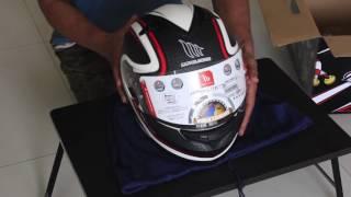 MT Helmets | Blade | SPDX One | 2016 Model | Quick unboxing