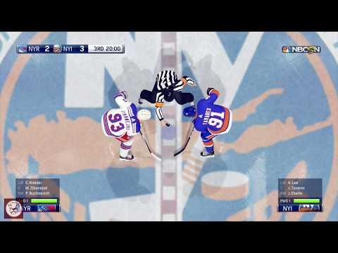 NHL 18: New York Rangers vs New York Islanders