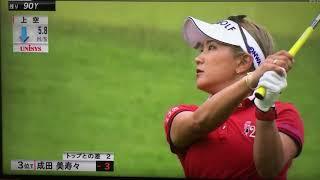 原英莉花快進撃golf JAPAN lady2019.6.27