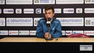 Open 13 : Interview d'Hugo Gaston, après son premier match ATP