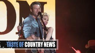 Gwen Stefani Brings Sexy to Blake Shelton's 40th Birthday