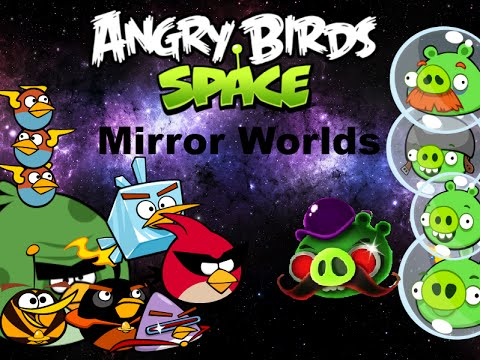 Angry Birds Space Plush Adventures: Mirror Worlds