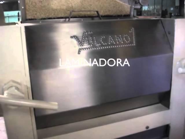 Línea para hojuelas -  Quinua / Quinoa flakes - Vulcano Tecnología Aplicada EIRL.