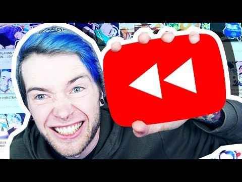 REACTING TO MY YOUTUBE REWIND 2017!!!