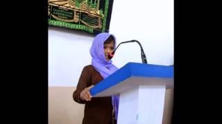 Ahmadi Waqf-e-Nao Girl Speech on Hospitality