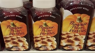 HalloWEen Shorts - Bath & Body Works Pumpkin Pecan Waffles Hand Soap