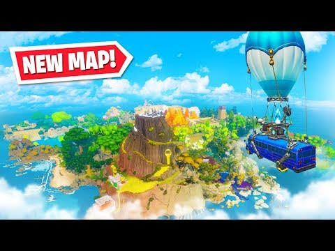 NEW MAP reveal *LIVE* RIGHT NOW in Fortnite!
