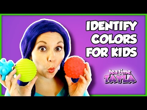 Identify Colors for Kids | Learn Colors Game with Tea Time with Tayla