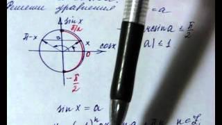 010 Понятие арксинус А