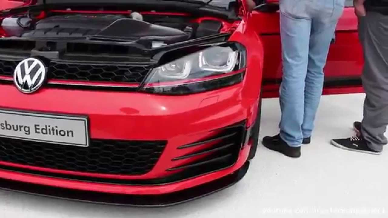 vw golf  gti wolfsburg edition youtube