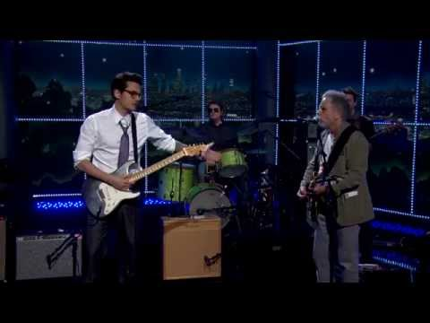 The Late Late Show   Bob Weir and John Mayer Perform Althea