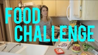 FOOD CHALLENGE - Healthy Pizza Recipe  Jen Widerstrom