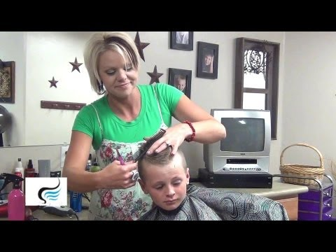 Little Boy Hairstyles And (Mohawk Haircuts) Tutorial