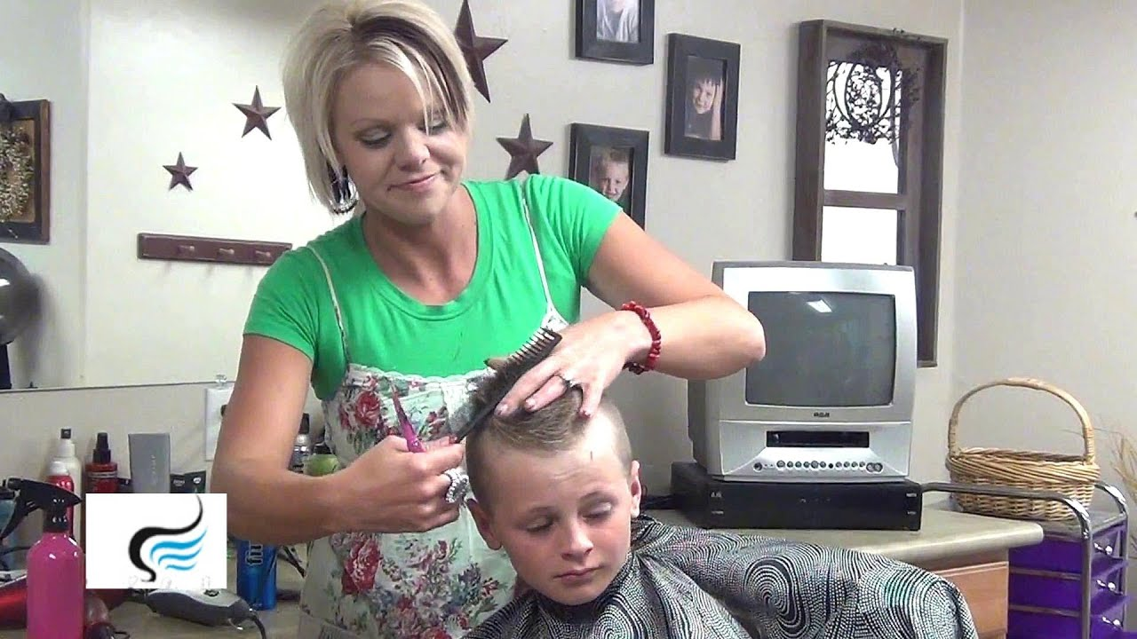 Little Boy Hairstyles And Mohawk Haircuts Tutorial Youtube