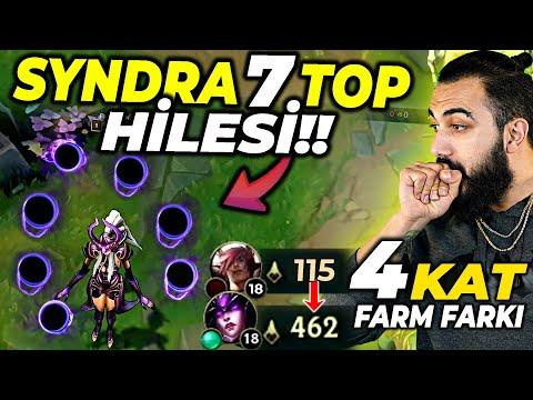 EFSANE 7 TOP HİLESİ!! 4 KAT HASAR VE FARM FARKI ZA SERİSİ SYNDRA!!   Barış Can