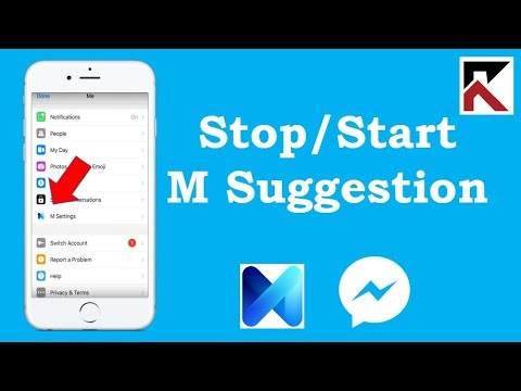 How To Stop Or Start Seeing M Suggestions In Facebook Messenger