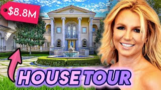 Britney Spears   House Tour UPDATED 2021   Her Los Angeles Real Estate