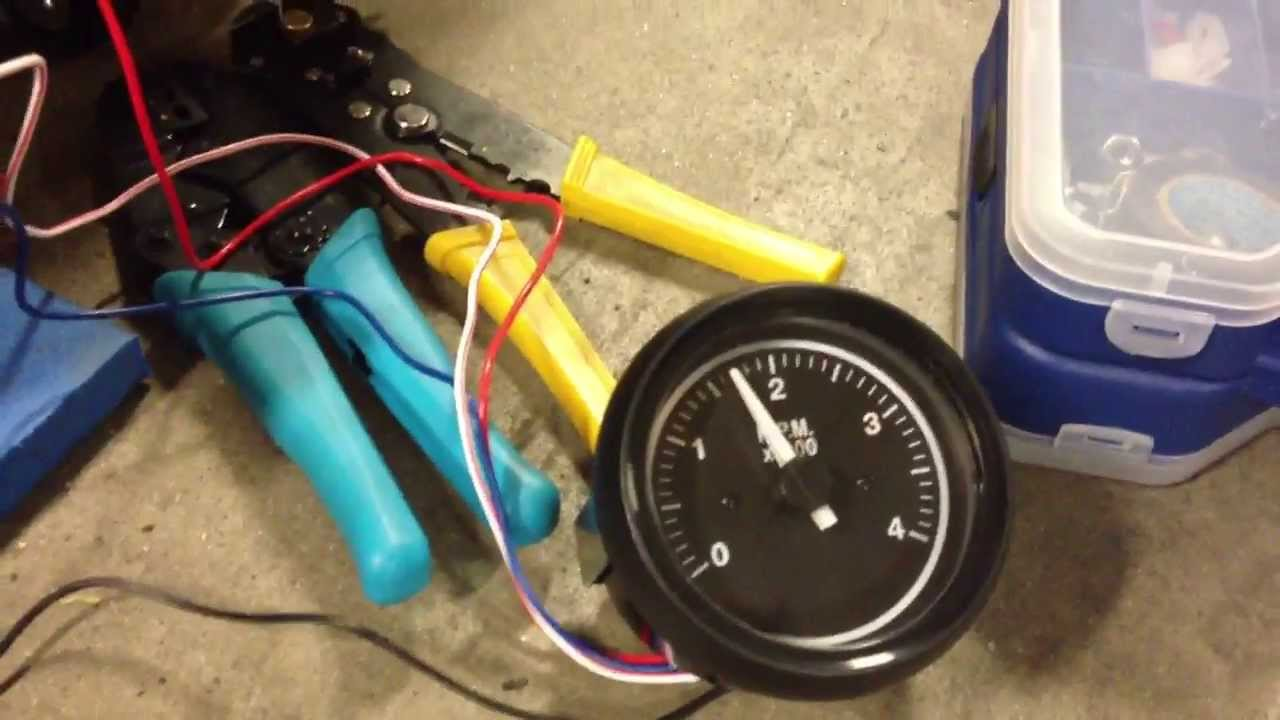 How to: Hook up a tach to a Briggs Opposed Twin  Lawn