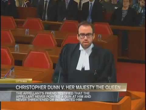 Solomon Friedman argues at the Supreme Court of Canada - R. v. Dunn