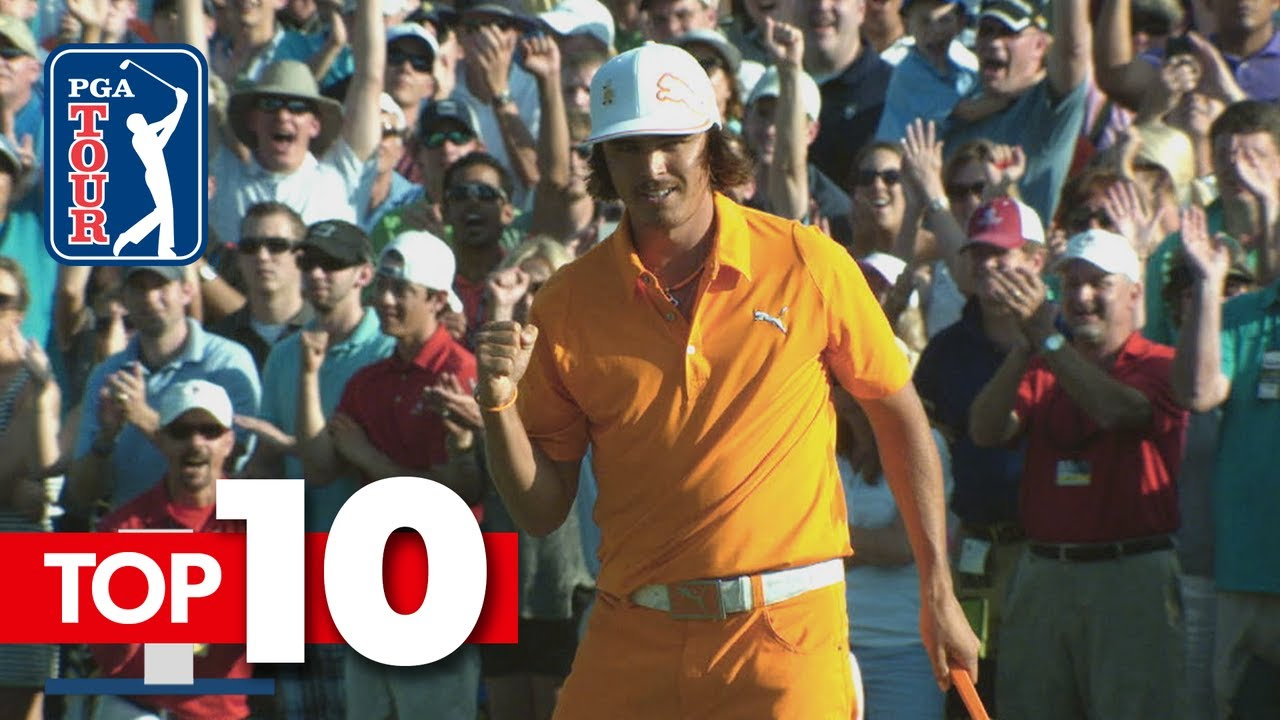 Top-10 all-time shots from Wells Fargo Championship