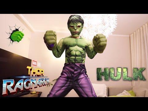 Hulk Attack New Gear From Hasbro Marvel Thor Ragnarok: Mask, Hands, Costume