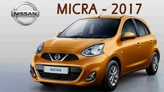 Nissan Micra 2017 Launched in India @ ₹5.99 - ₹7.23 lakh | Specifications, Features