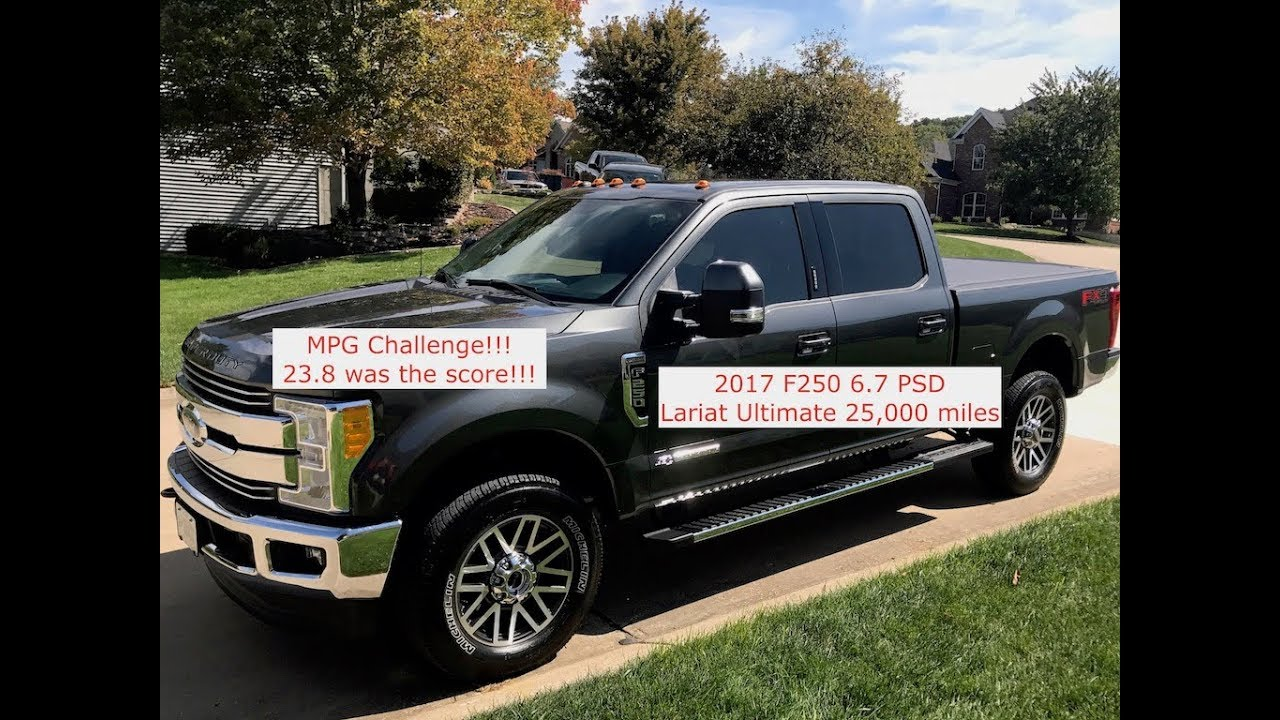Ford F250 Mpg Challenge 23 8