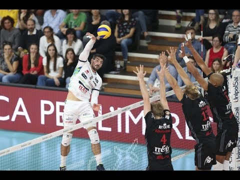 Highlights di Diatec Trentino-Revivre Milano 2-3 (1° turno SuperLega)