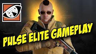 Rainbow Six Siege Pulse Elite Gameplay Uniform Victory Animation Oscillator Weapon Lucky Seventh