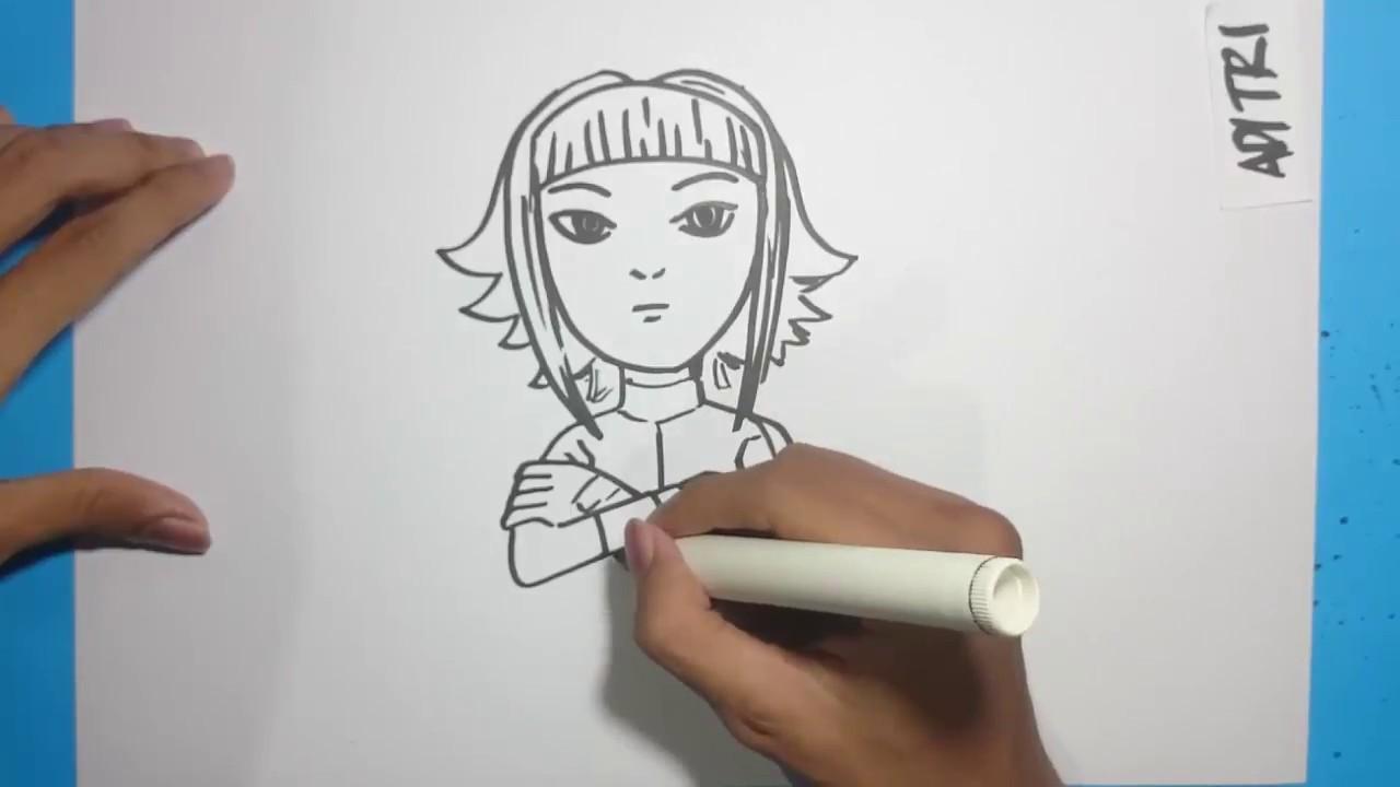 Menggambar Ejen Roza Animasi Ejen Ali Musim 2   Cara ...