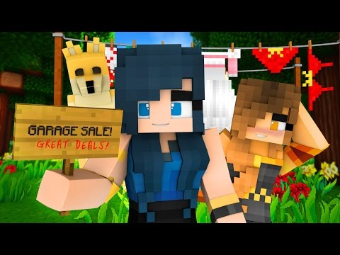 Minecraft Garage Sale - GUESS WHAT I'M SELLING!? (Minecraft Roleplay)