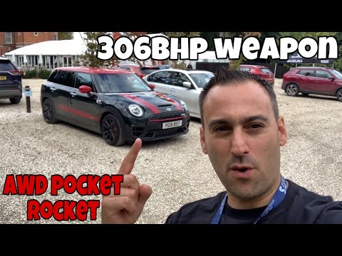 2020 Mini Clubman JCW Review - Driving the Fastest Mini EVER !! 306bhp weapon