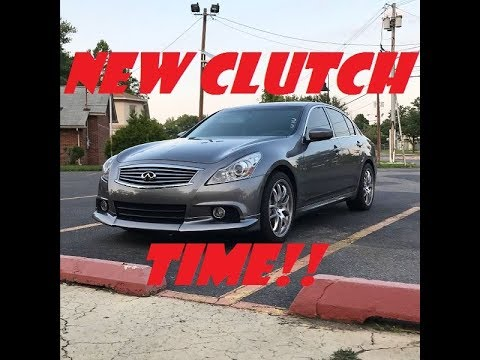 Infiniti G37 Clutch Replacement Part 1 – Disassembly