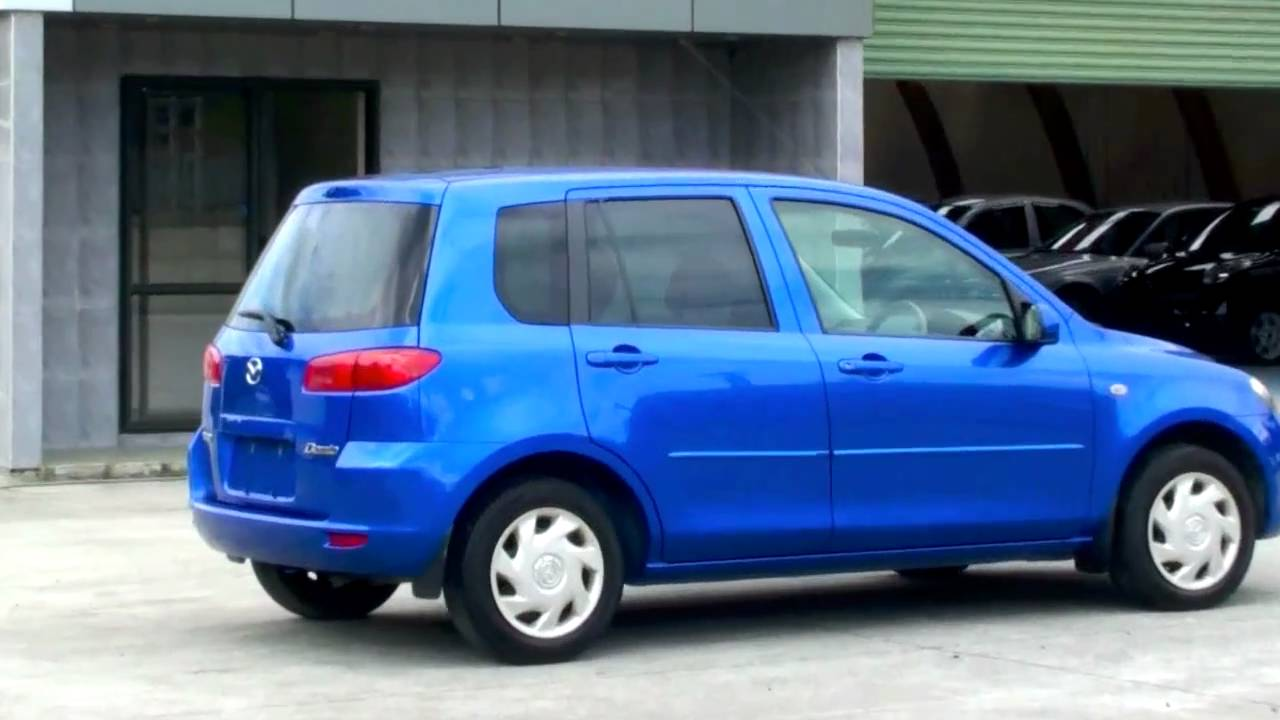 Mazda Demio 2002 Metallic Blue 94k Auto Youtube