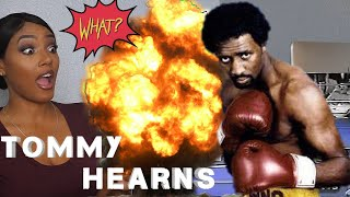 "New Boxing Fan Reacts to Thomas ""Hitman"" Hearns Highlights"