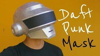Cómo hacer la Máscara de Thomas Daft Punk con papel cartulina u opalina   Momuscraft