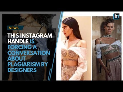 This Instagram handle is forcing a conversation about plagiarism by designers