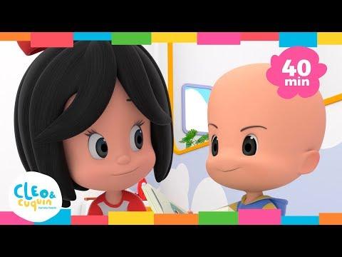 EN LA GRANJA DE MI T脥O y m谩s canciones infantiles de Cleo & Cuqu铆n | Familia Teler铆n