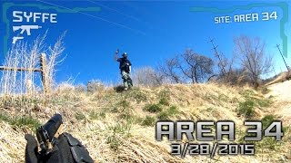 Area 34 AIRSOFT - March 2015 | ECHO 1 OCW, ICS CXP15