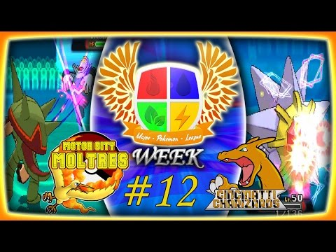 Major Pokemon League Week #12 Motor City Moltres Vs. Cincinnati Charizards!