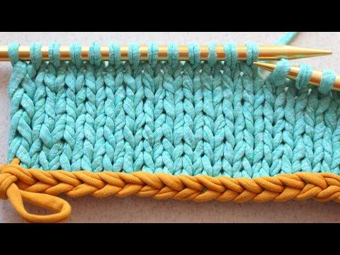Как набрать петли на дополнительную нить видео