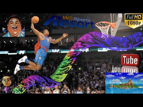 Parte 1/7 | Quiero machacarlos en el baloncesto (Wii Sports Resort) | 3D-HOU.