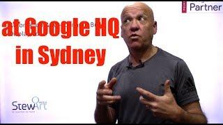 At Google HQ Sydney