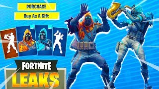 *NEW* Fortnite LONGSHOT & INSIGHT Skins, Phone It In, Mime Time, Showstopper, Scorecard Emotes
