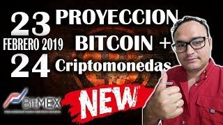 Proyección de Mercado Cripto para 23 y 24 de Febrero - criptomonedas 2019 | BITCOIN V158