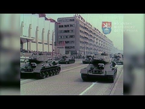 Vojenská přehlídka 1954